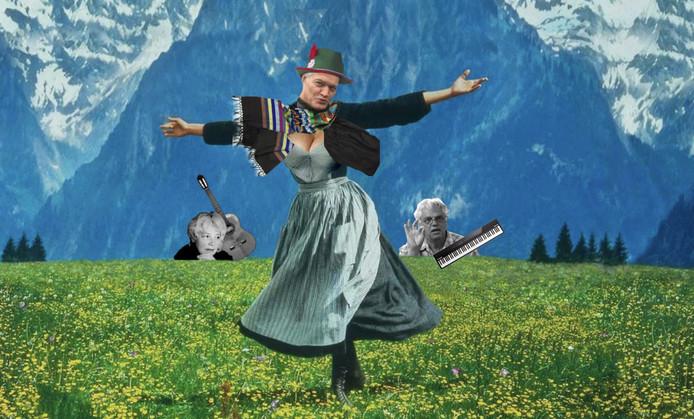 Olga, Porgy en Hein Franssen maakten 'De Sound of Mucus'