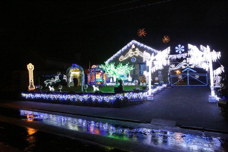 Het kersthuis in Hakendover.