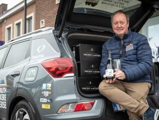"""Champagne voor Nokere Koerse 2021 is gearriveerd: """"Corona zet geen rem op de vraag naar onze bubbels"""""""