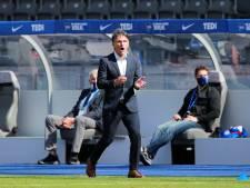 Hertha-coach Labbadia wil al omhoog kijken na succesreeks