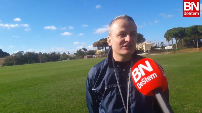 Rob Penders is voor even hoofdcoach van NAC.
