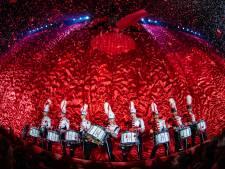 Dordts drumcorps Jubal in opening van Vrienden van Amstel Live