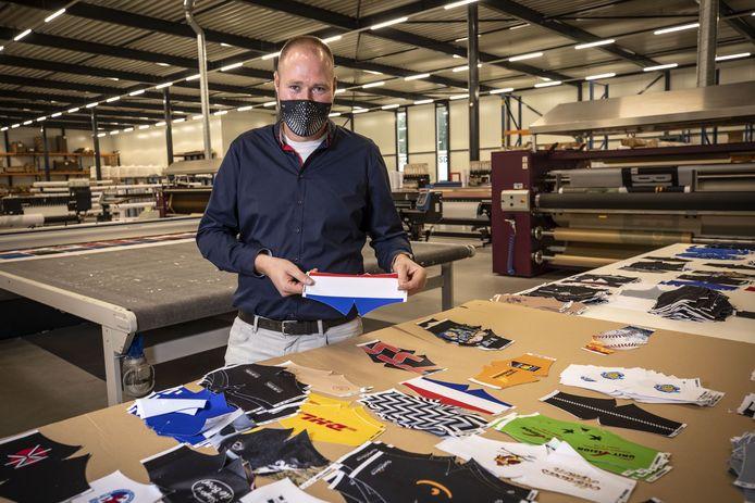 Bjorn Wissink: 'Een mondkapje is een leuk product, maar het is ook priegelwerk'