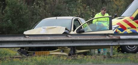 Ongeval op de A1 bij Rijssen, ruim een uur vertraging