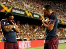 Arsenal naar Europa League-finale dankzij Aubameyang en Lacazette