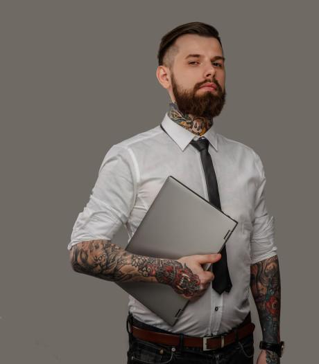 Tatoeage een jobstopper?  In Amerika niet meer