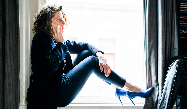 Zzp'er Floor Margarita Cornelisse, werkzaam als interim-cultureel leider in bedrijfsontwikkeling. Beeld null