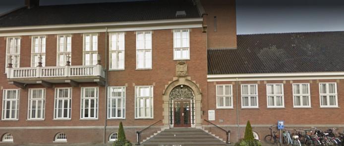het raadhuis van Hoogeveen