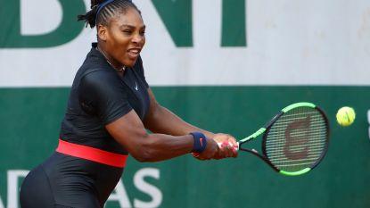 Serena Williams past voor achtste finale tegen Maria Sharapova