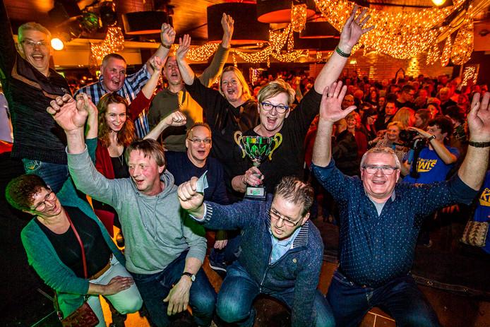 De winnaars van de Battumse Kwis.