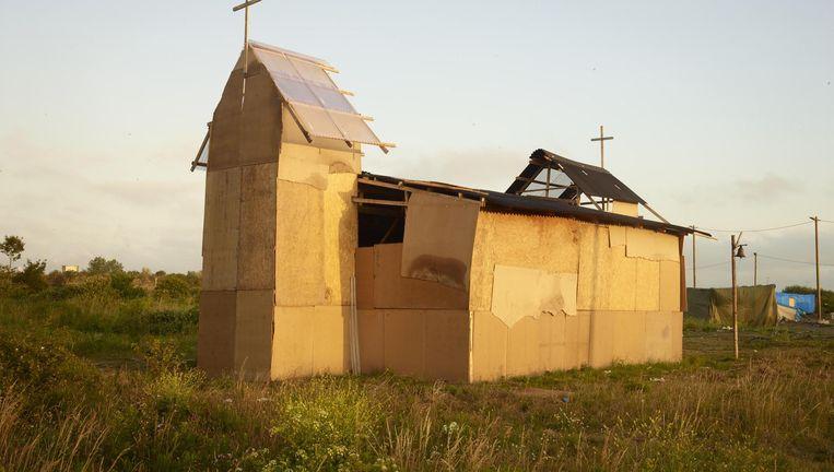 Juli 2015 De kerk, gebouwd door de Eritrese gemeenschap, mag van de Franse rechter niet worden afgebroken. Beeld null
