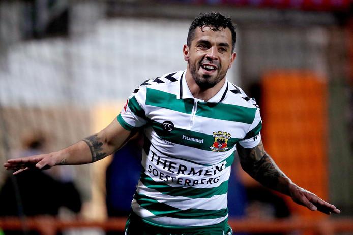 Bruno Andrade bejubelt de 0-1.