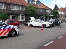 Botsing tussen twee auto's in Amersfoort, alleen blikschade