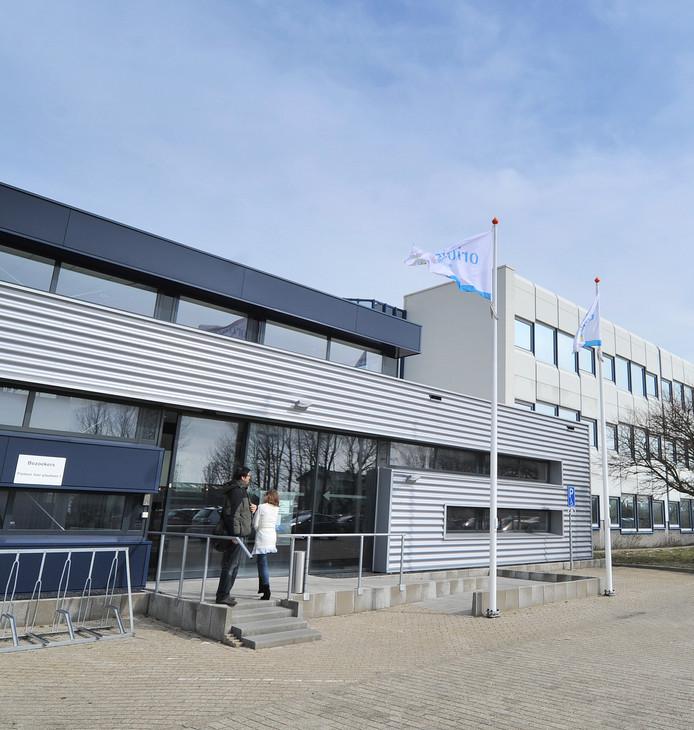 Het kantoor van Orionis Walcheren aan de Oostsouburgseweg in Vlissingen.