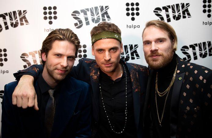 Van links naar rechts: Thomas, Giel en Stefan.