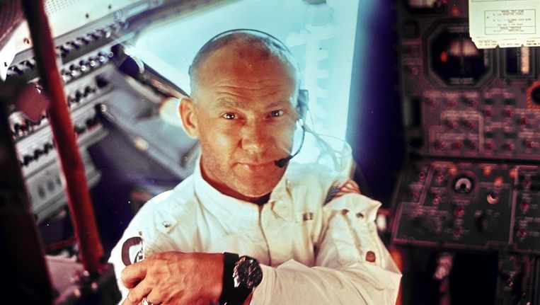 Buzz Aldrin in 1969. Beeld reuters