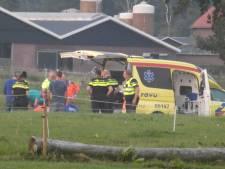 Ruiter raakt gewond bij val van paard in Renswoude
