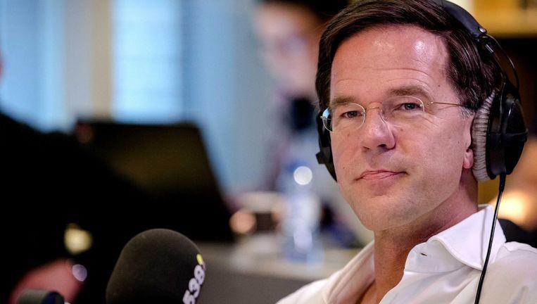 VVD-leider Mark Rutte werd bij Pauw & Jinek in het nauw gedreven door woedende Groningers. Beeld anp