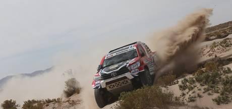 Rallyrijder Bernhard ten Brinke gaat van start in de veertigste Dakar rally