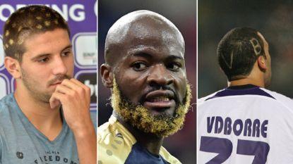 Van Mitrovic tot Vanden Borre: Lamkel Zé niet de eerste met opvallende look in België