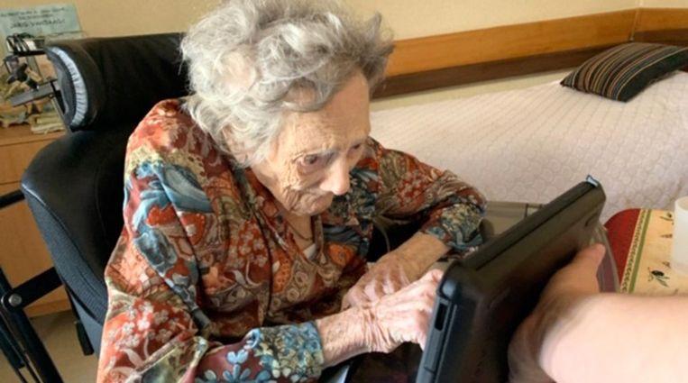 De 103-jarige Coleta kon haar dochter eindelijk terugzien.
