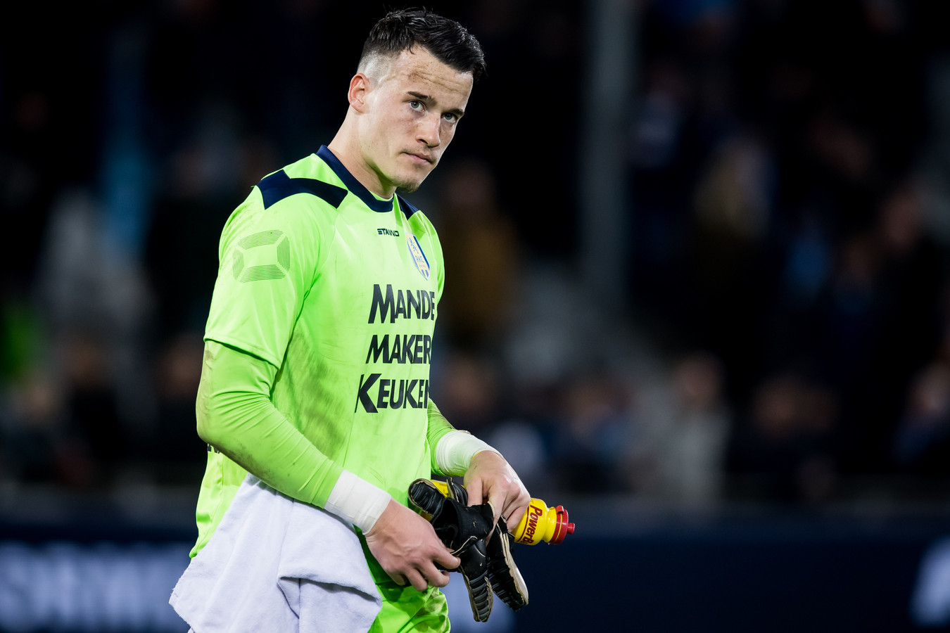 Etienne Vaessen staat langer onder contract bij RKC Waalwijk.