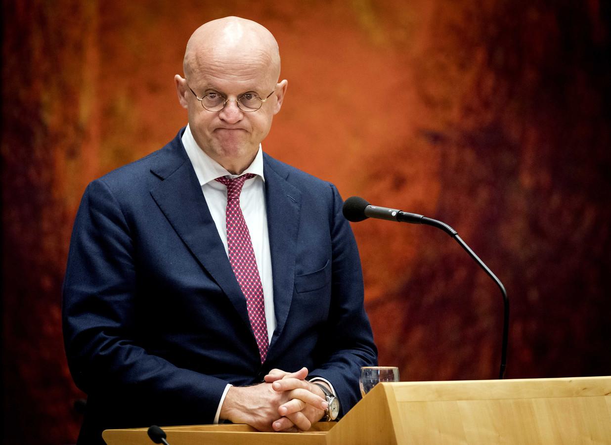 Ferd Grapperhaus, minister van Justitie en Veiligheid in de Tweede Kamer.