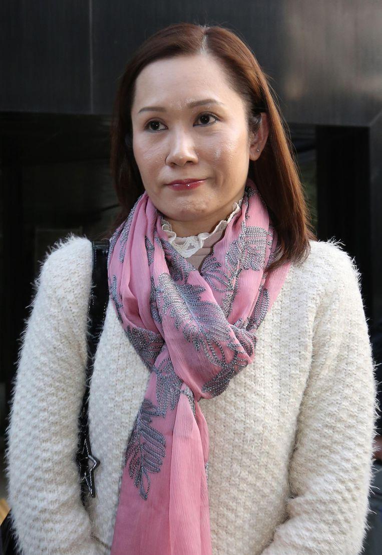 Law Wan-tung, de werkgeefster van Erwiana.