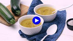 Gegarandeerde smaakbom, deze courgettesoep met drie pittige ingrediënten