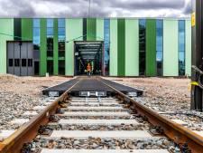 Hier worden straks de trams vertroeteld: gloednieuwe tramremise Nieuwegein bijna klaar