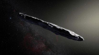 'Vliegende sigaar Oumuamua' is een komeet