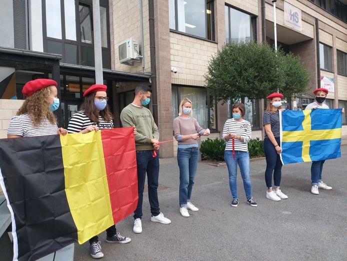 Het Brugse VHSI gaat samenwerken met een school uit Stockholm.