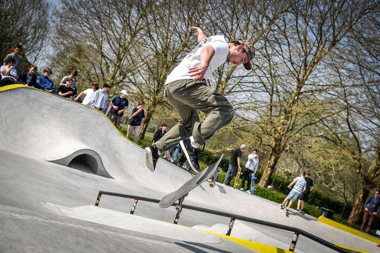 Illustratiebeeld : Skatepark Grembergen