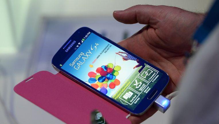 Samsung Galaxy S 4. Beeld afp