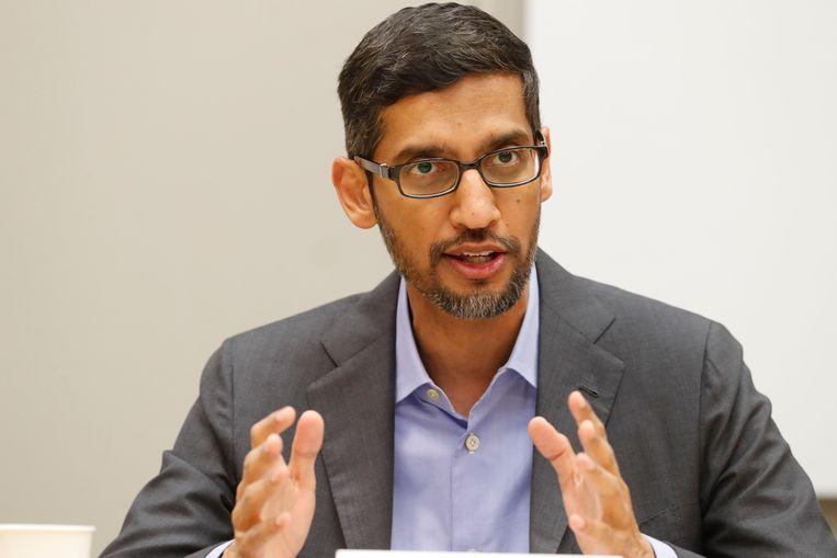 Google-CEO Sundar Pichai.