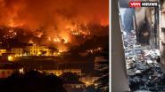 """B&B van Vlamingen Ann en Gerrit vernield door bosbrand: """"Jaren aan gewerkt"""""""