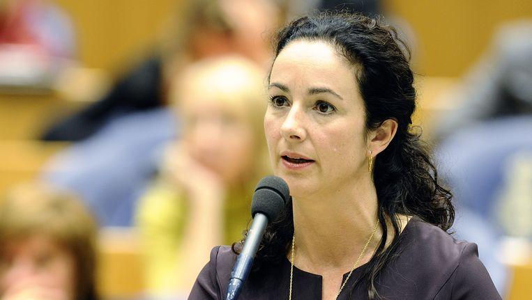 Femke Halsema, als het aan de bezoekers van Trouw.nl ligt, de nieuwe voorzitter van Natuurmonumenten. Beeld ANP