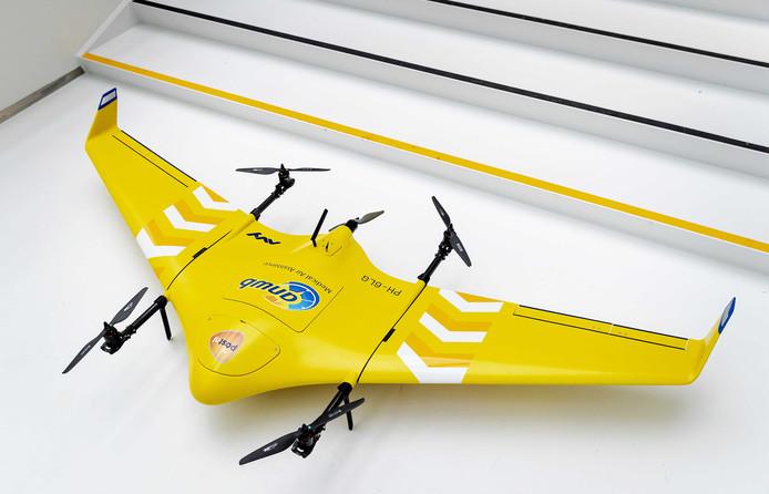 Een medical drone waar de ANWB momenteel tests mee uitvoert.