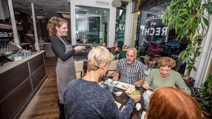 Restaurant Recht is nog ietwat krom
