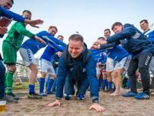 Johan Scholten nog een jaar trainer van ongeslagen GVA