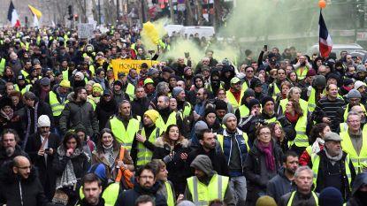 """Opnieuw zo'n 69.000 Franse 'gele hesjes' op straat: """"Mobilisatie van politie was nodig om herrieschoppers aan te houden"""""""