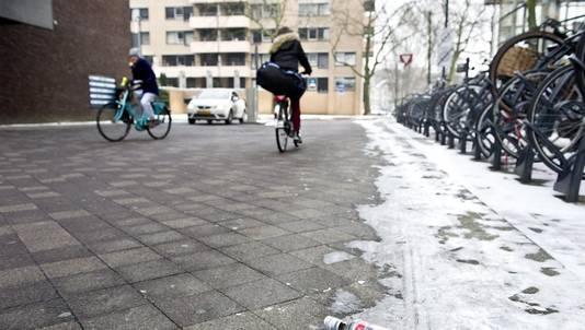 De plek in Eindhoven waar op 25 januari een 22-jarige man is mishandeld