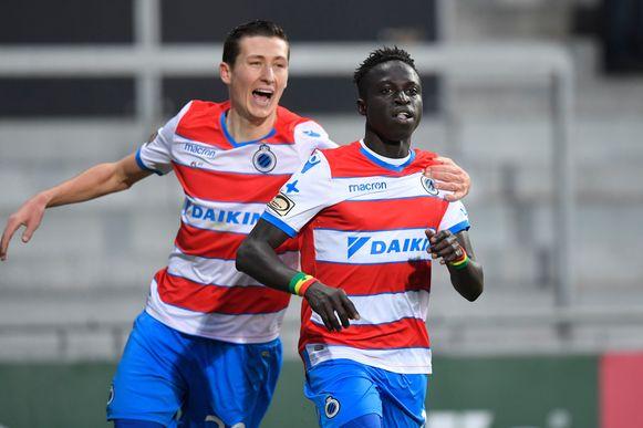Diatta scoorde zijn eerste goal in het shirt van Club.