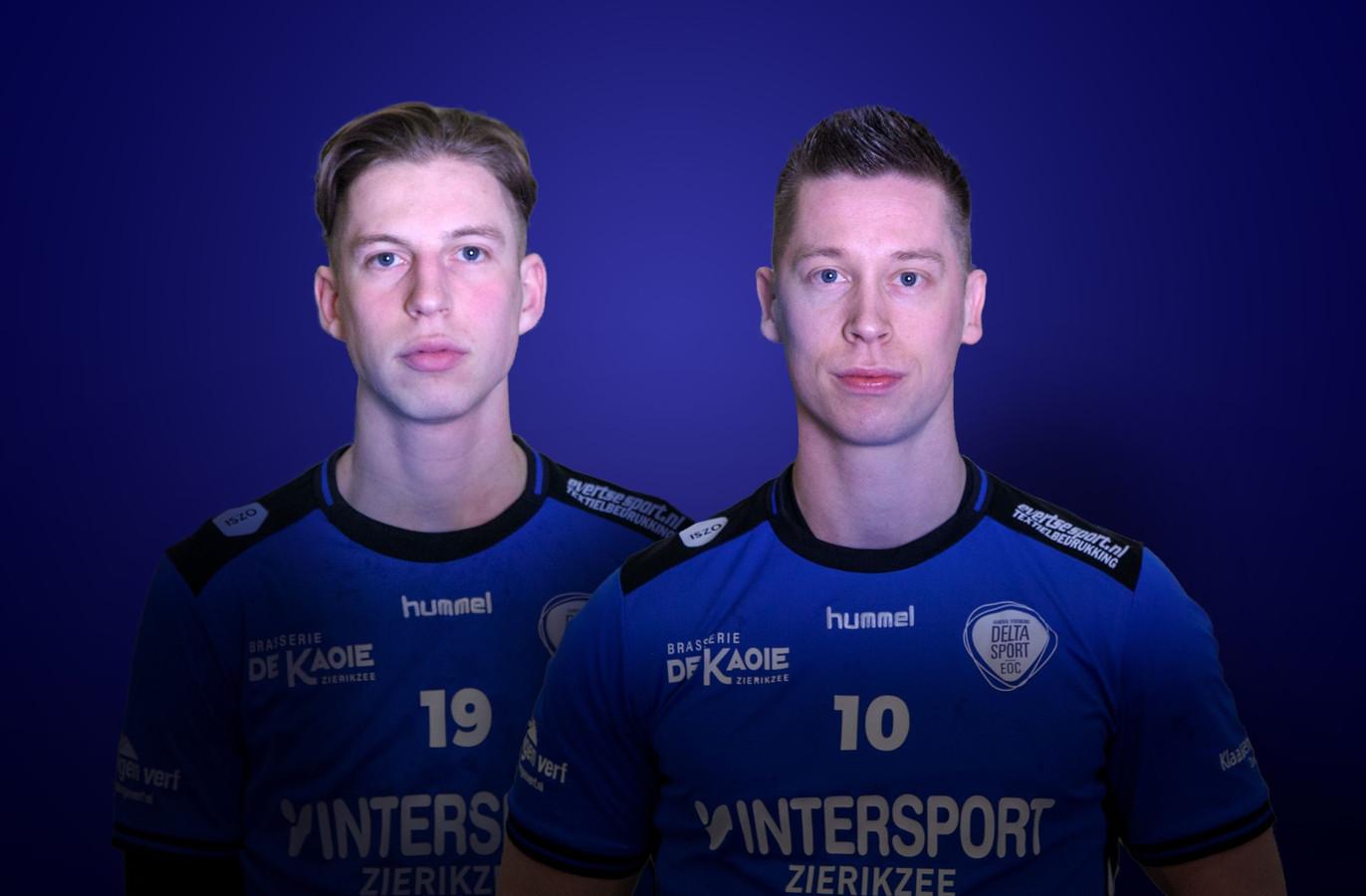 Brendan (links) en Kevin Meulmeester gaan een Belgisch avontuur aan.