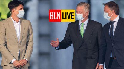 LIVE. Koning weigert ontslag preformateurs: opdracht verlengd tot woensdag, maar wat nu?