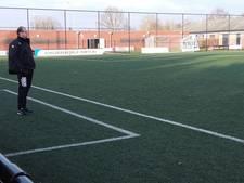 Met veldspeler op goal is Dieze West wederom kansloos
