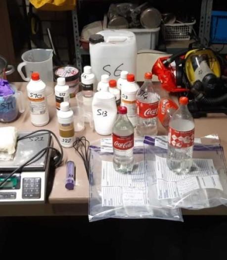 Drugs en wapens gevonden bij integrale controle door politie en gemeenten in West-Brabant