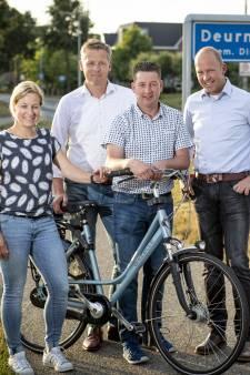 Drempel lager voor jeugd Run Bike Run in Deurningen