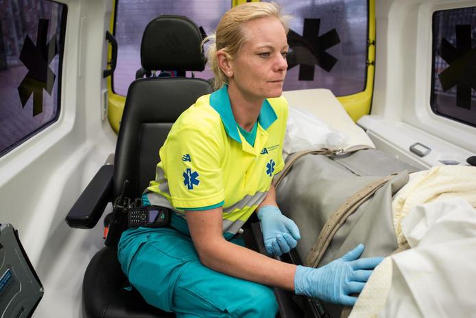 Jessica Hoedeman zat de afgelopen twee jaar op de psycholance in Amsterdam.