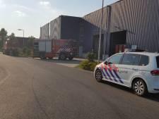Brand in machine bij Frankenhuis textielrecycling Haaksbergen